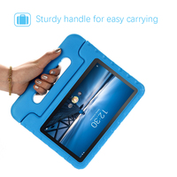 """screen film For Lenovo Tab M10 Tab P10 10.1"""" X605 2019 Tablet Case EVA Shockproof Portable Handle Protective Stand Cover With Screen Film (3)"""