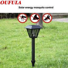 Светильник oufula на солнечной батарее для уничтожения комаров