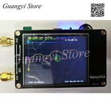 NanoVNA Vector анализатор сети антенный анализатор коротковолновый MF HF VHF UHF Genius