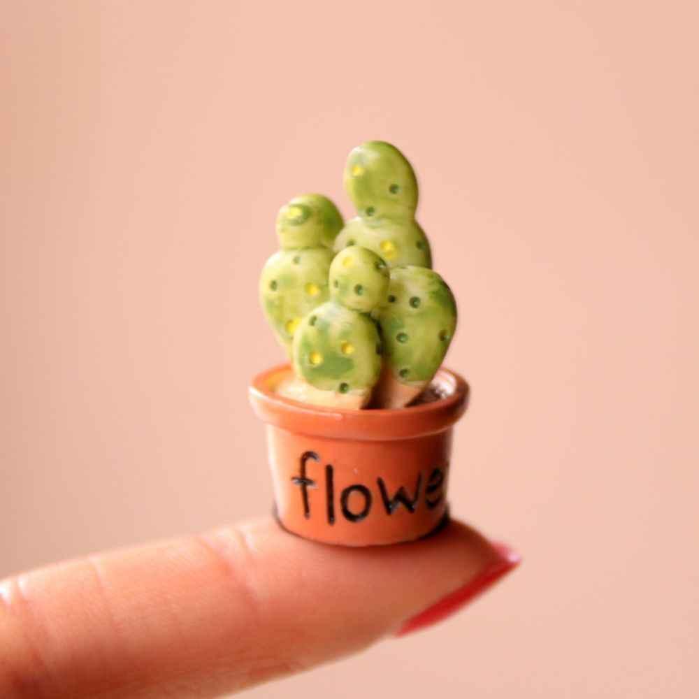 1PCS Mini Künstliche Fleshiness Kaktus Gefälschte Sukkulenten Pflanzen Echt Palm Bonsai Landschaft Dekorative Blume Für Home Decor Tabelle