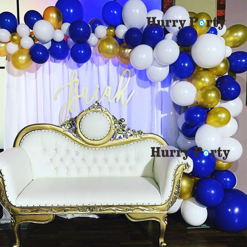 Blue White And Gold Party Decorations  from ae01.alicdn.com