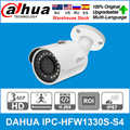 DaHua Original IPC HFW1330S S4 3MP POE 30M IR IP67 SD Card Slot Smart IR BLC HLC DWDR Mini Bullet IP Camera replace IPC HFW1320S