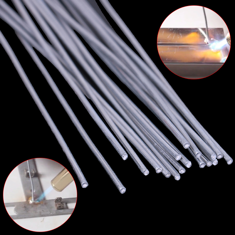 10pcs 500mm 330mm Welding Rods Low Temperature Aluminum Solder Welding Rod Wire Electrode Welding Sticks Soldering Supplies