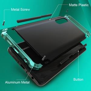 Image 4 - Leanonus Aluminum Metal Bumper Case For Huawei P30 Case P30 Pro Shockproof Full Cover Armor Funda For Huawei P20 Pro Case P20