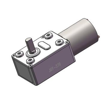 JGY-370 wysoki moment obrotowy wysokiej jakości odwrócony silnik elektryczny 6V 12V DC silnik 24V motoreduktor ślimakowy tanie i dobre opinie CN (pochodzenie) Rohs Below 2A Szczotka Silnik z przekładnią Całkowicie zamknięty About 2w Z magnesami trwałymi 4-25kg cm
