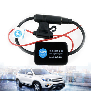 ANT-208 12V автомобильный усилитель сигнала радио антенна авто FM/AM антенна усилитель лобового стекла антенна антенны
