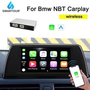 Smartour Wireless Carplay MMI Android auto interface box For BMW Series 3 F30 F31 F34 Series 4 F32 F33 F36 NBT MuItimedia IOS