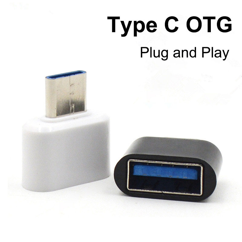 USB-C Android OTG Adapter Micro Type C Converter USB 3.1 Male To USB-A Female Type-C Male To USB 2.0 Female Adapter For Phone PC