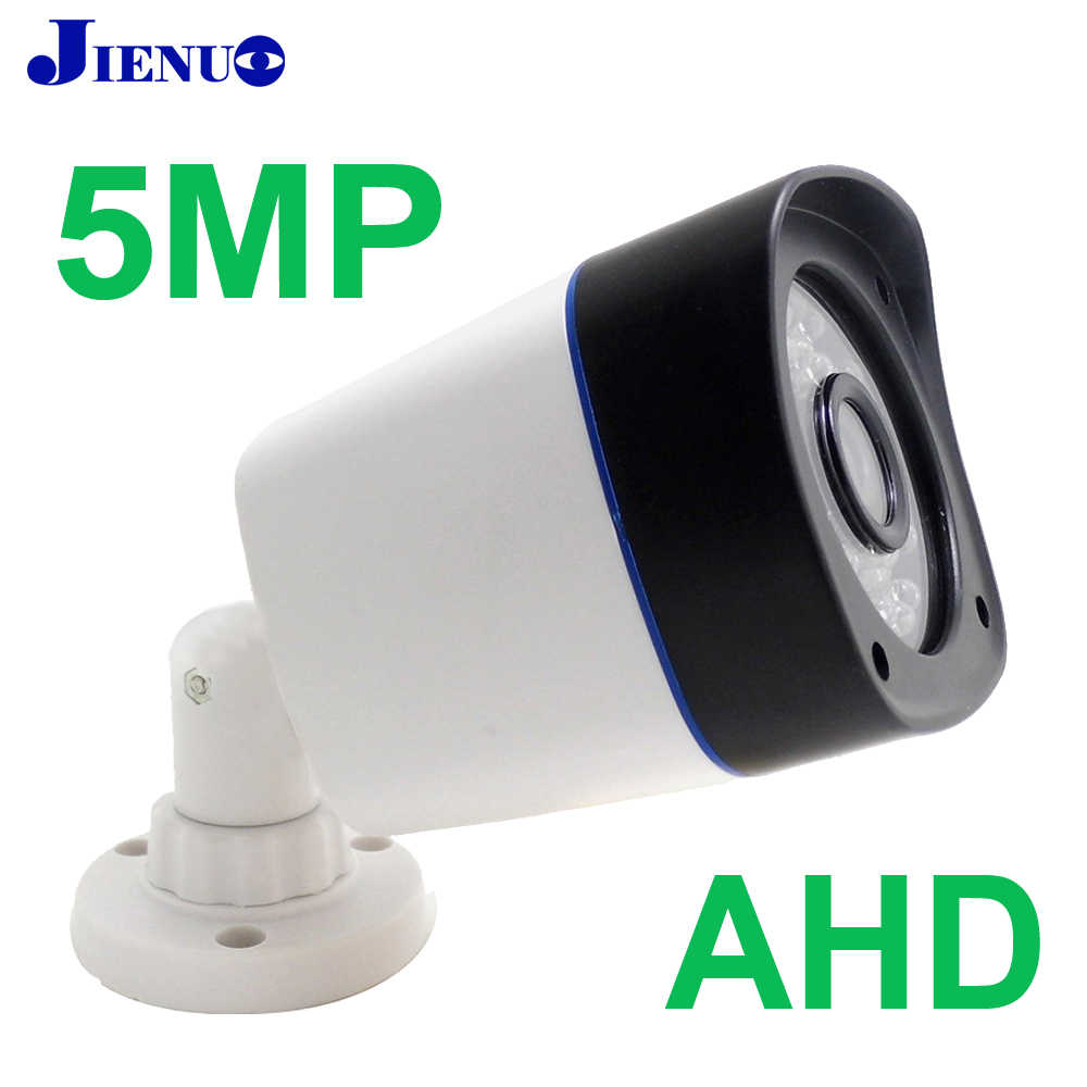 JIENUO AHD Camera HD 5MP 1080P 4MP Outdoor Waterdichte High Definition CCTV Security Surveillance Infrarood Night Vision Home Cam