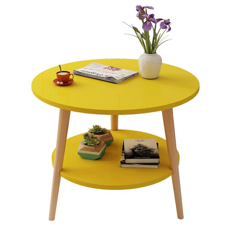 Mesa de centro de oficina de estilo nórdico sofá de sala mesa auxiliar pequeña mesa de comedor pequeña mesa de té muebles para el hogar