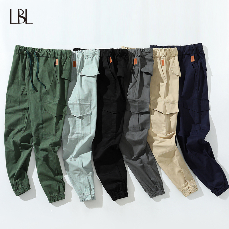 Jogging Pants Tracksuit Cargo-Trousers Fitness Bodybuilding Sports Running Male