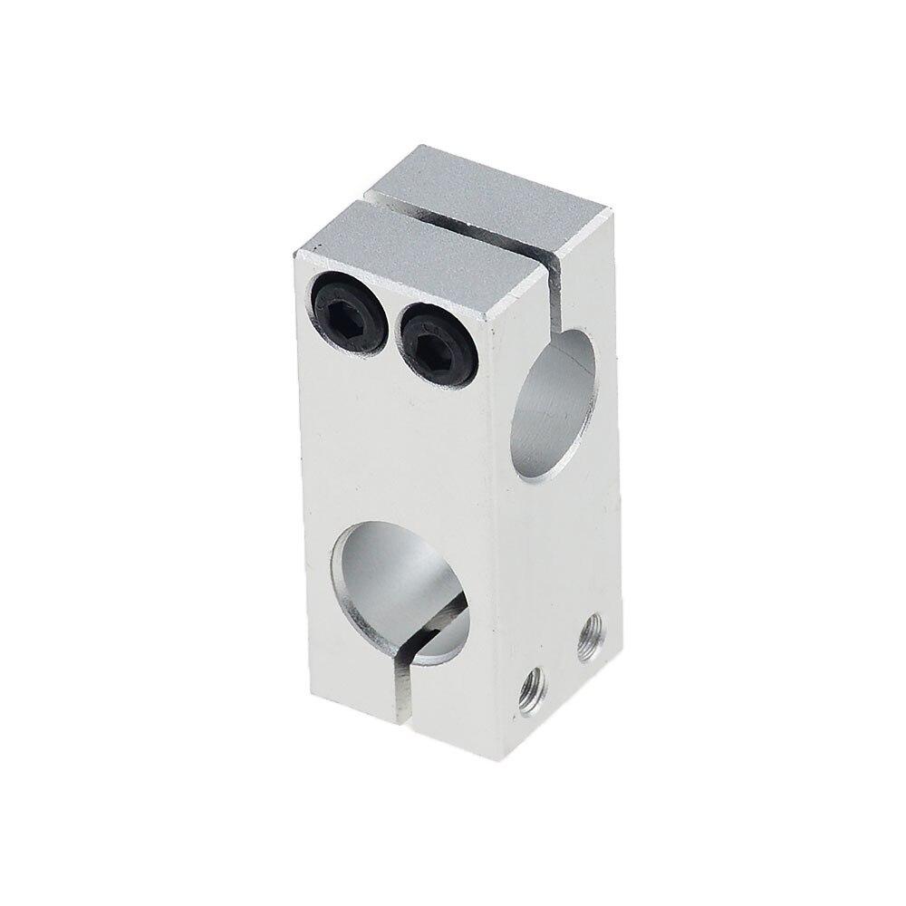 Фиксирующий Зажим для столбов, вертикальный фиксированный диаметр, крепление из алюминиевого сплава, оптическая ось, крестовой блок, сталь...