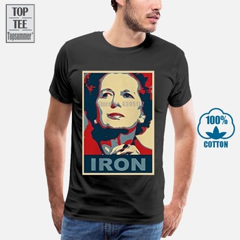 Cafepress Margaret Thatcher T-shirt - 100% Cotton T-shirt 2018 Hot Shirt Print Great Discount New Arrival Funny High Quality image