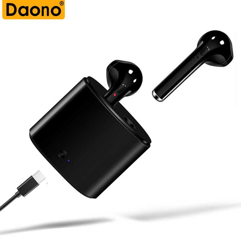 <font><b>I7s</b></font> <font><b>TWS</b></font> <font><b>Bluetooth</b></font> <font><b>Earphone</b></font> <font><b>Stereo</b></font> Earbud Sport <font><b>Bluetooth</b></font> Headset with Charging Pod Wireless Headsets for All Smart Phone image