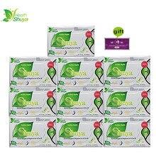 Servilletas higiénicas Shuya Anion para mujer, paños menstruales para uso diario, toallitas sanitarias diarias, 10 paquetes