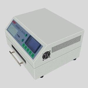 Image 4 - T 962 110 v/220 v 800 ワットデスクトップリフロー炉赤外線 ic ヒーターはんだ機 800 ワット 180 × 235 ミリメートル T962 bga smd smt リワーク