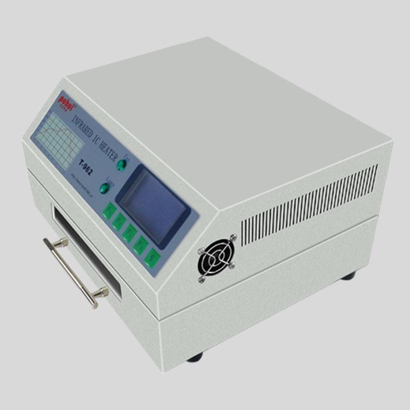 T-962 110V / 220V 800W Desktop Reflow Пещ инфрачервена - Заваръчно оборудване - Снимка 4