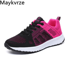 women's shoes flying woven sneakers wild lace-up mesh flats girls women casual sports shoes new flying woven mesh breathable women s shoes casual wild lace mesh women s sneakers shoes fashion lightweight casual shoes