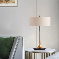 Nordic bedroom bedside study warm table lamp designer model room showroom simple living room creative sofa table lamp LB022601