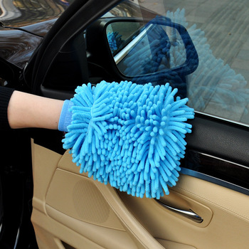 1pc Microfiber Car Motorcycle Wash Glove Cleaning Car Care Detailling Products Super Mitt Microfiber Washing Tool 1
