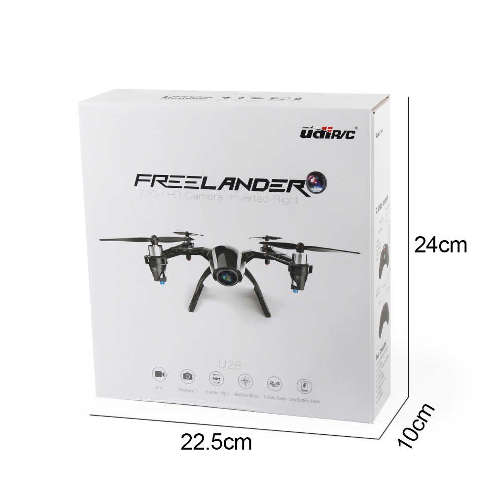 You Di UDI U28 Remote Control Drone For Aerial Photography Four-Rotor Inverted Quadcopter Aviation Model Toy