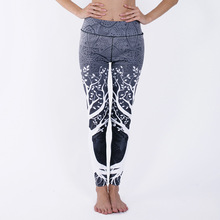 CINESSD Digital Print High Waist Yoga Pants Gym Push Up Workout Leggings Hip Lift Leggings Sport Women Fitness Quick Dry Pants