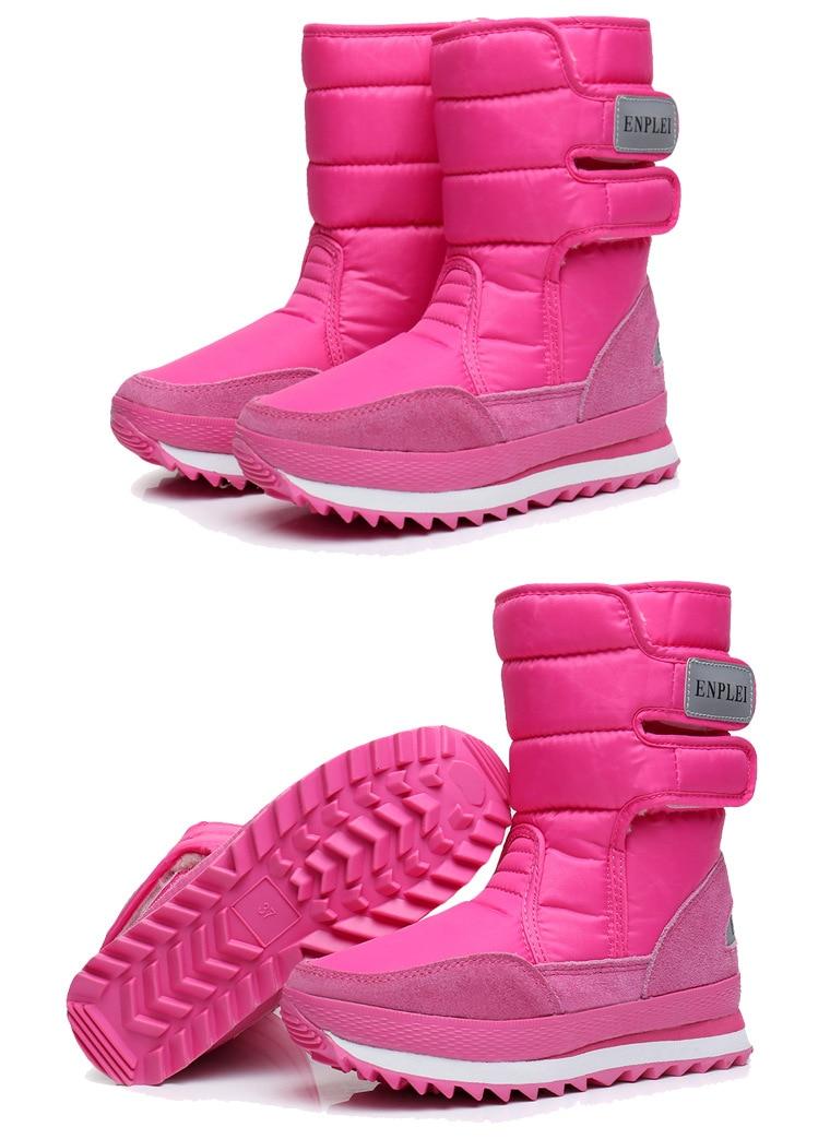 Botas de neve sapatos femininos 2021 hook