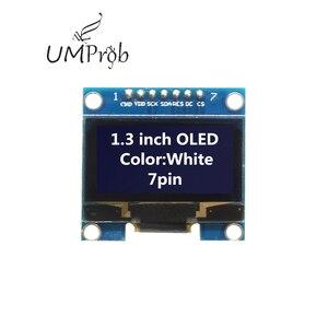 Image 5 - 0.91 Inch 128X32 IIC I2C Trắng/Xanh Dương OLED Màn Hình Hiển Thị LCD Module DIY SSD1306 IC Điều Khiển DC 3.3V 5V Cho Arduino