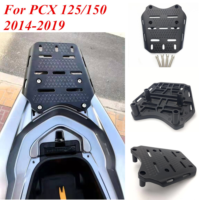 Modified Motorcycle <font><b>pcx</b></font> Rear Bracket Carrier Tail rack Rear top box luggage rack bracket carrier For <font><b>Honda</b></font> <font><b>pcx</b></font> <font><b>125</b></font> 150 2014-<font><b>2019</b></font> image