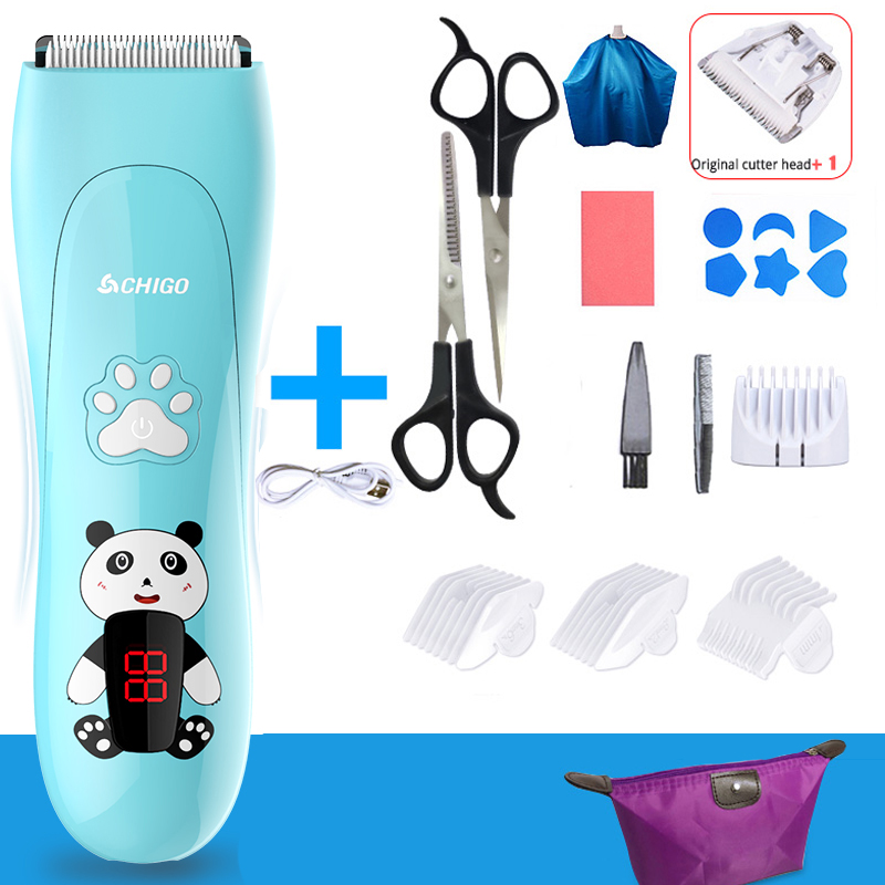 Children's Hair Clipper Ultra-quiet Rechargeable Electric Clipper Baby Trimmer For Hair Cutting Hair Clipper For Children