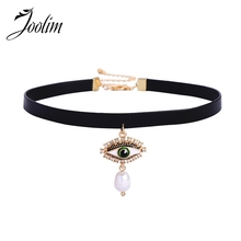 JOOLIM Jewelry Wholesale/High End Eye Choker Necklace Collar Design