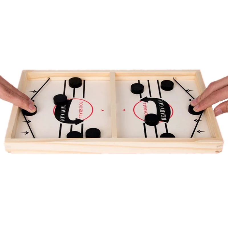Slingpuck Game Desktop Games Table Ice Hockey Battle Slingpuck Board Game Fast Sling Puck