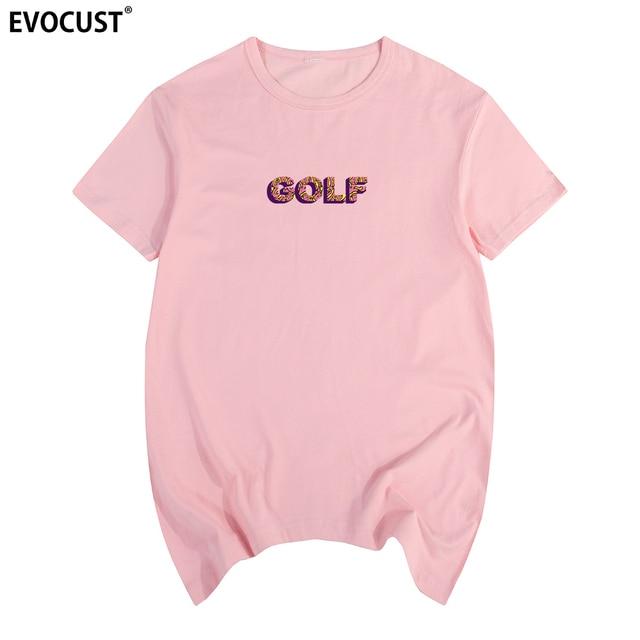 Golf Wang logo Skate Cherry Bomb Tyler twórca   OFWGKTA koszulka bawełniana męska T koszula nowa koszulka TSHIRT damska
