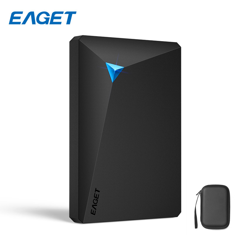 Eaget G20 500GB/1TB/2TB USB 3.0 External Hard Drive Shockproof Full Encryption HDD 2.5