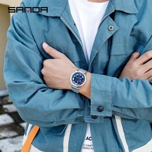Image 5 - SANDA 2020 Hot Sell Men Watch Racing & Furious Rotating Dial Wheel Watches Magnet Clasp Quartz Wristwatch Gift Relogio Masculino