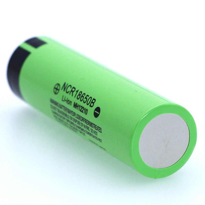 100% новый Оригинальный NCR18650B 3,7 v 3400mah 18650 литиевая аккумуляторная батарея для фонариков