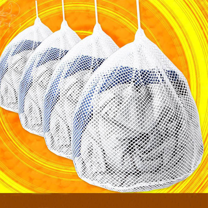 Thick Protective Laundry Bag String Bag Fine Mesh Filter Anti-Transformation Woollen Sweater Mesh Laundry Bag Women's Coarse Mes