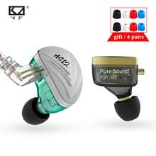 سماعات KZ AS12 6BA داخل الأذن HIFI سماعات مراقبة رياضية مع خاصية إلغاء الضوضاء سماعات أذن KZ ZSX AS16 AS10 AS06 ZS10 PRO C16 C12