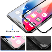 Tempered Glass Anti Blue Light Smooth Full Cover Removable Ultra Thin Accessories Dustproof Screen Protector Phone For IPhone XR