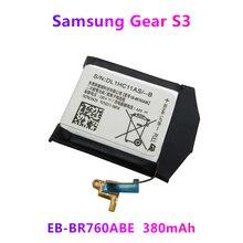 Neue Batterie EB BR760ABE Für Samsung Getriebe S3 Frontier Klassische SM R760 SM R765 SM R770 Echtem Sekundäre Li Ion Batteria 380mAh