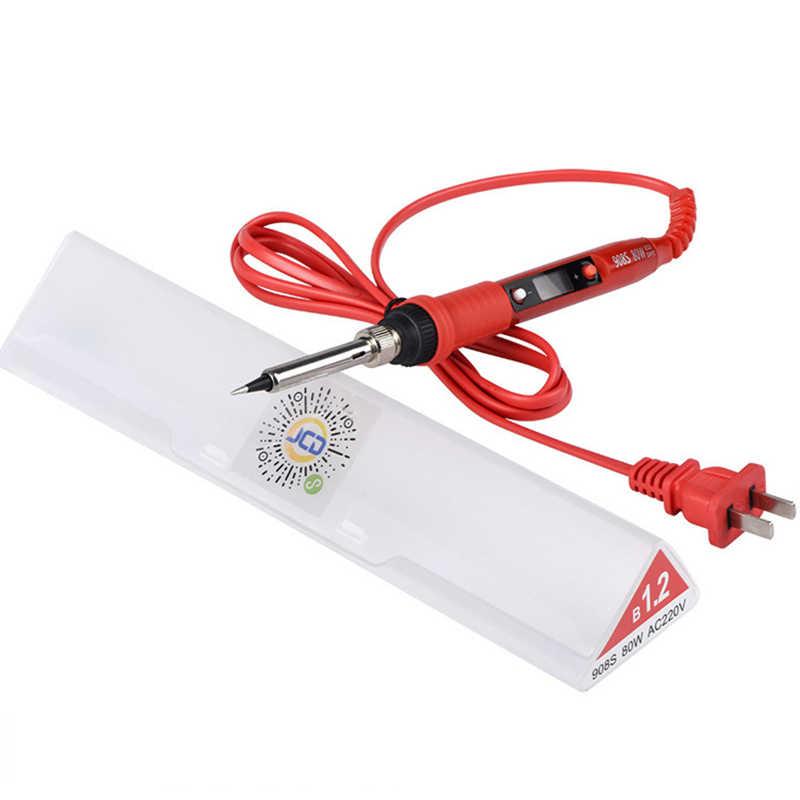 Urijk 220V 80W LCD fer à souder électrique température réglable fer à souder outils de soudage électronique Kits avec embouts de soudure