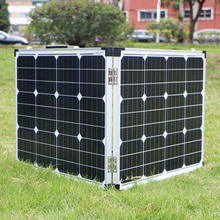 Dokio 100W (2Pcs x 50W) Foldable Solar Panel China Mono pannello solare usb Controller Battery Cell/Module/System Charger