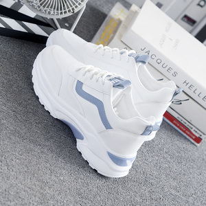 Women Sneakers 2019 Fashion Casual Shoes Woman Comfortable Breathable White Flats Female Platform Sneakers Chaussure Femme
