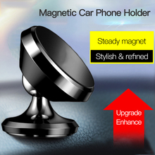 Magnetic Car Phone Holder For iPhone XS X Redmi Note 7 Magnet Mount Car Holder For Phone in Car Cell Mobile Phone Holder Stand цены