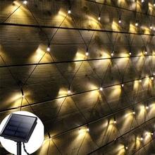 Thrisdar 3x2 м 204 светодиодный на солнечных батареях Светодиодный сетчатый светильник-Гирлянда для дома, сада, двора, праздника, Рождества, солнечная гирлянда, сказочный светильник