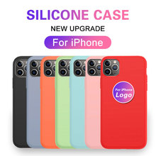 Original Liquid Silicone Phone Case For Apple iPhon