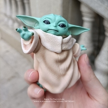Disney Star Wars 8cm Toy Master Baby Yoda Darth PVC Action Figure Anime Figures Collection Doll mini Toy model for children gift