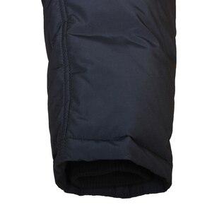 Image 5 - City class Business Parkas kurtka zimowe ciepłe płaszcze futro z norek odpinane Super ciepłe nowe modne kurtki okazjonalne Top