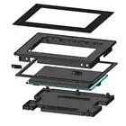 7,0 дюйма Nextion Улучшенный резистивный NX8048K070 011R USART HMI lcd сенсорный экран с корпусом для Arduino Raspberry - 5