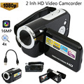 1080 Video Camera16MP Digital Video Kamera Camcorder 4x Digital Zoom Handheld Digital Kameras TFT LCD Camcorder-in Consumer-Camcordern aus Verbraucherelektronik bei